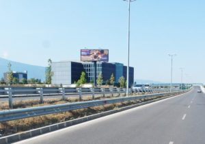 41-2 bul. Bryuksel - new trestle towards the airport, in front of Sofia Airport  Business Park_towards center
