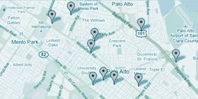 Присъствие на точното място : Локации