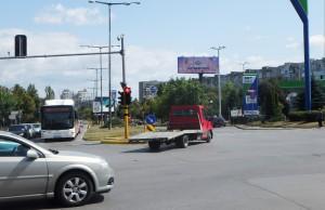 34-1 бул. Г.М. Димитров  бул. Драган Цанков - пред OMV, срещу ПИБ_посока бул. Цариградско шосе