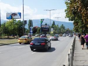 34-2 бул. Г.М. Димитров  бул. Драган Цанков - пред OMV, срещу ПИБ_посока ПИБ, Студентски град